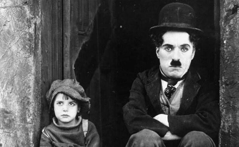 Чарли Чаплин мальчик