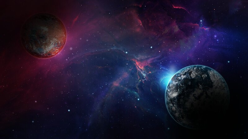 планеты космос