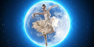 Балерина луна