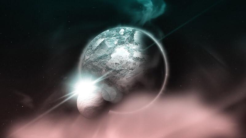 Земля космос свет