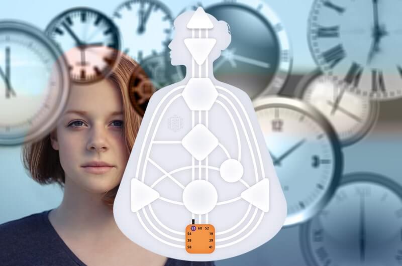 Девушка часы бодиграф