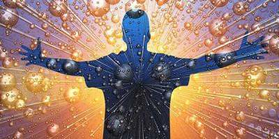 Человек атомы энергия