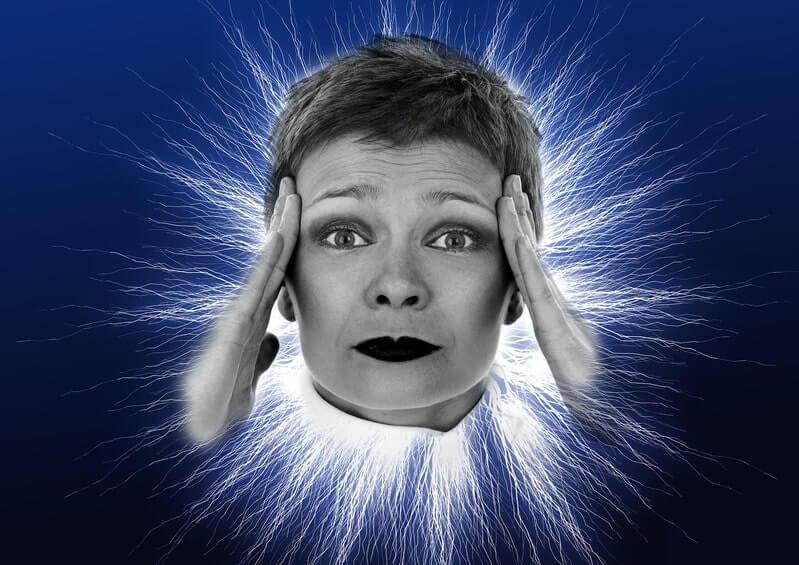 Женщина голова энергия