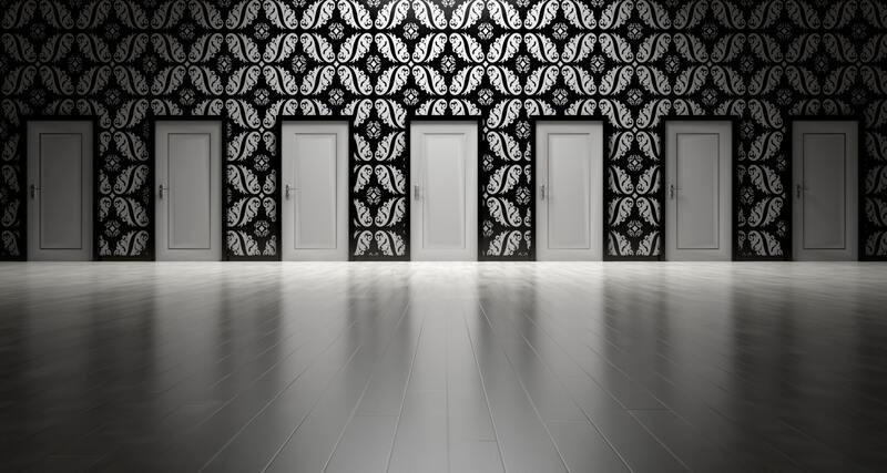 Ряд дверей