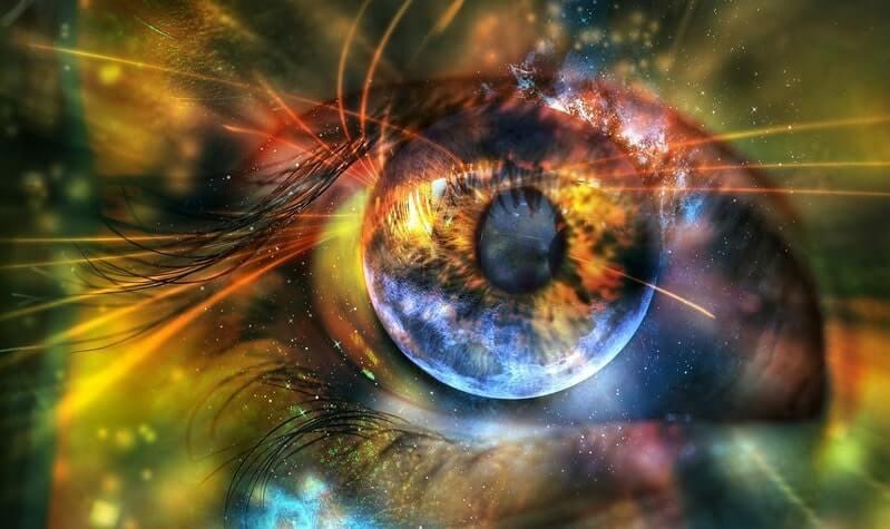Глаз абстракция