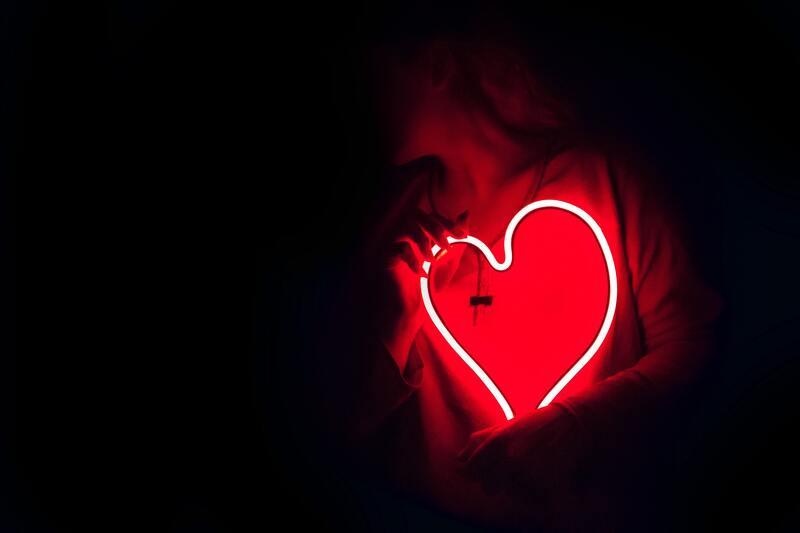 Женщина сердце
