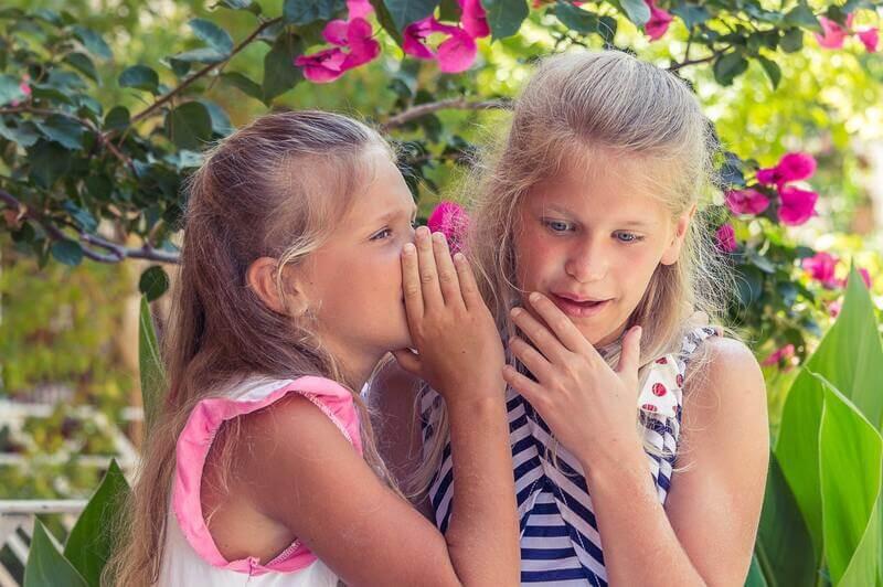 Девочки шепчутся