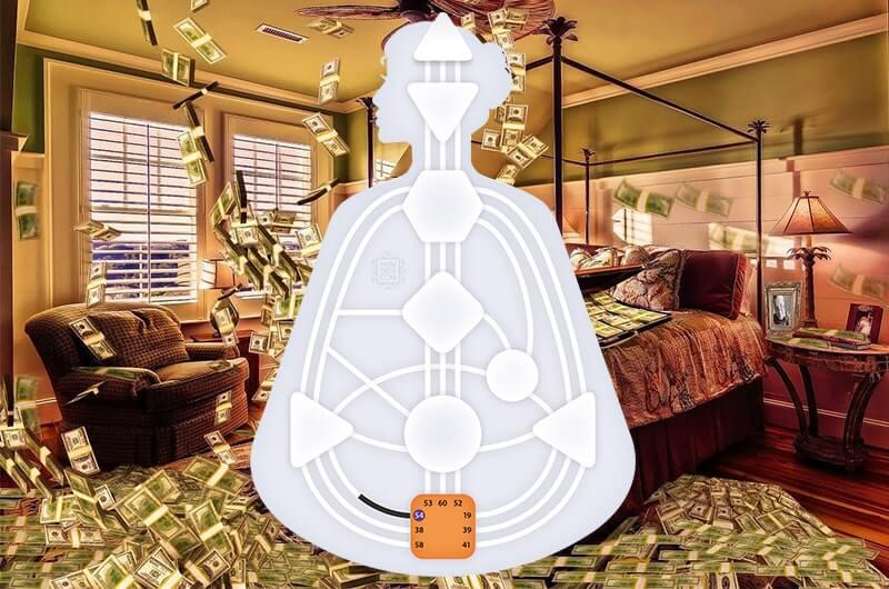 Комната деньги бодиграф