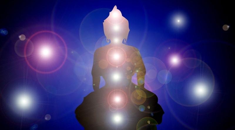 Будда чакры аура