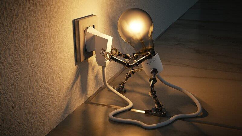 Электричество лампа