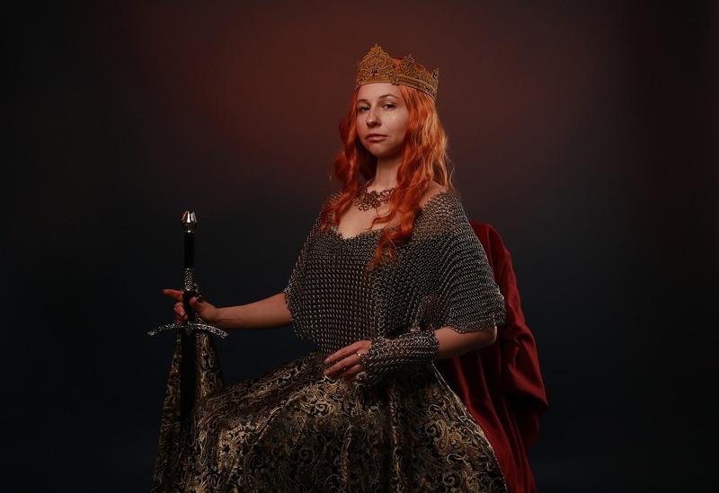 Королева портрет