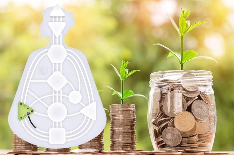 Монеты банка рост доходов