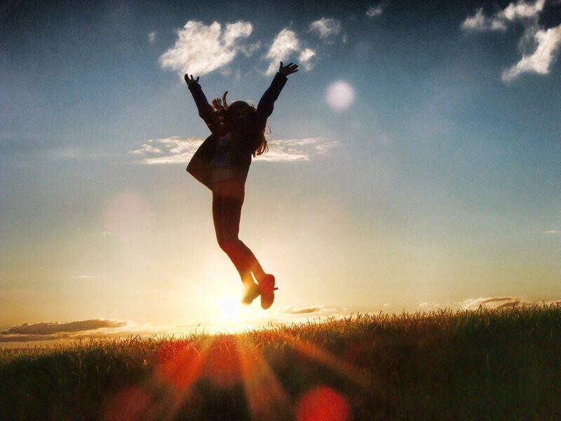 Вдохновение мотивация прыжок